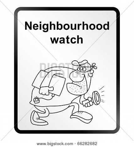 Neighbourhood Watch Information Sign