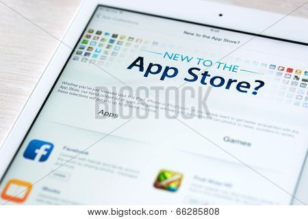 App Store Features On Apple Ipad Air