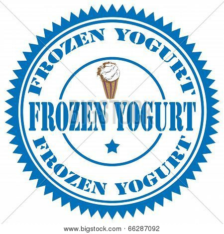 Frozen Yogurt-stamp
