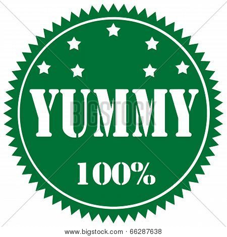 Yummy-label