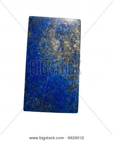 Lapis Lazuli Isolated