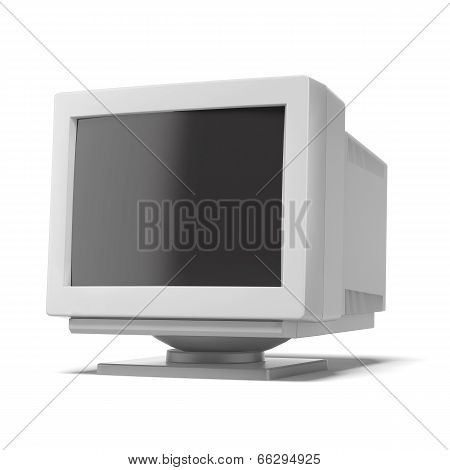 old computer monitor