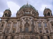 foto of dom  - Berliner Dom cathedral church in Berlin Germany - JPG