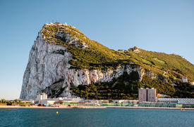 picture of gibraltar  - Day view of Gibraltar - JPG