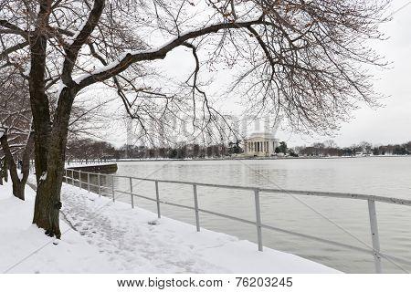 Washington DC - Thomas Jefferson Memorial in Winter