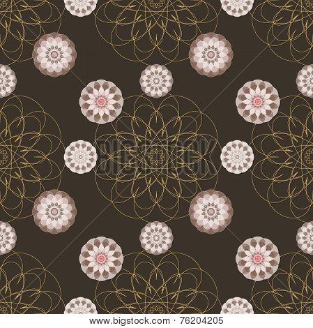 Braun Abstract Seamless Texture.