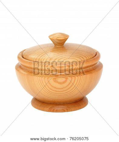 Wooden Salt Shaker.