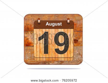 August 19.