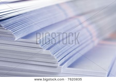 Stack Of Flyers