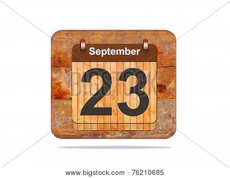 September 23.