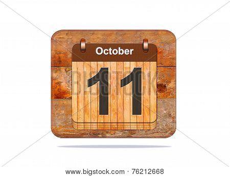 October 11.