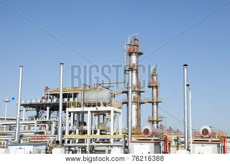 Chemical plant equipment