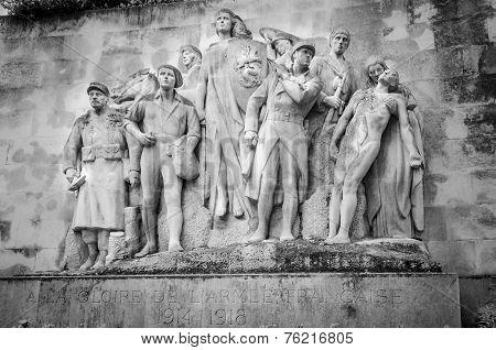 First World War Memorial In Paris