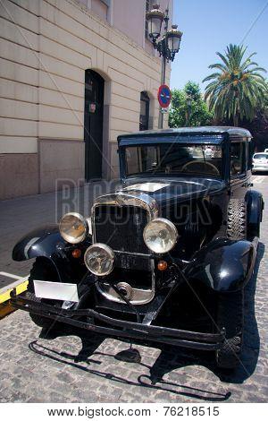1950 Black Car