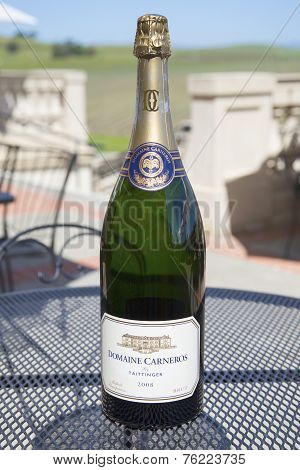 Domaine Carneros Sparkling Wine in Napa Valley