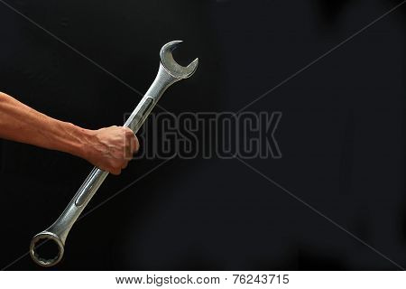 Big Steel Wrench