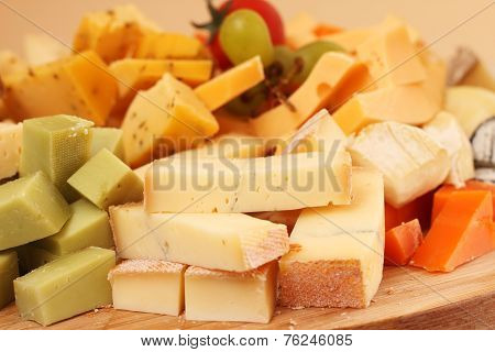 Cut Cheese Background