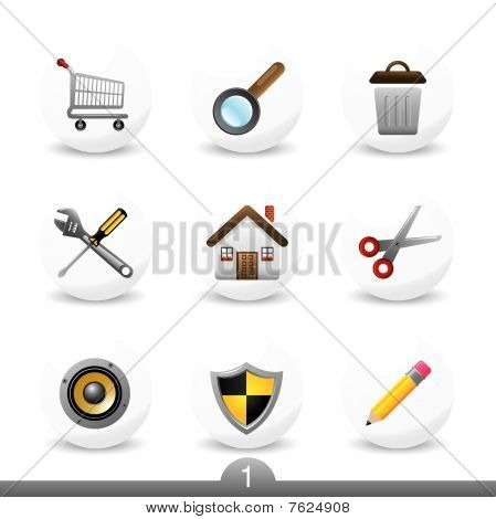 Web icons series 1