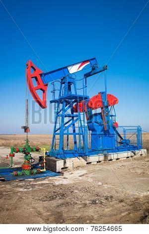 oil industry pumpjack