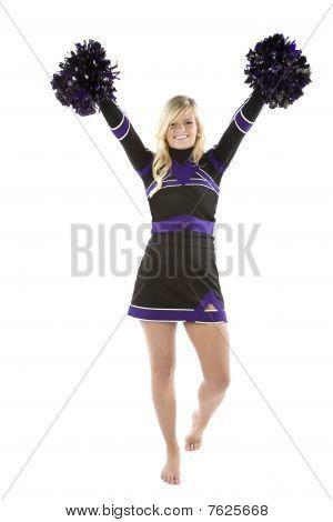 Cheerleader Pom Poms Up