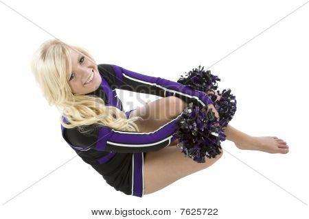 Cheerleader Top View
