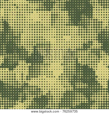 military dots seamless background