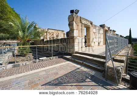 Synagogue Of Capernaum