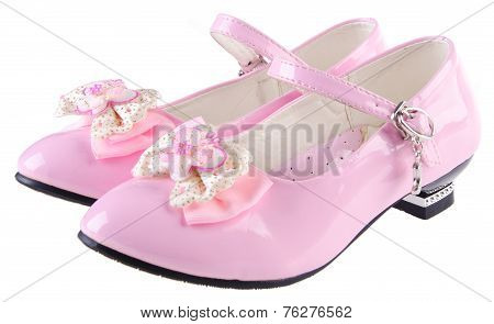 Shoes For Girls On Background