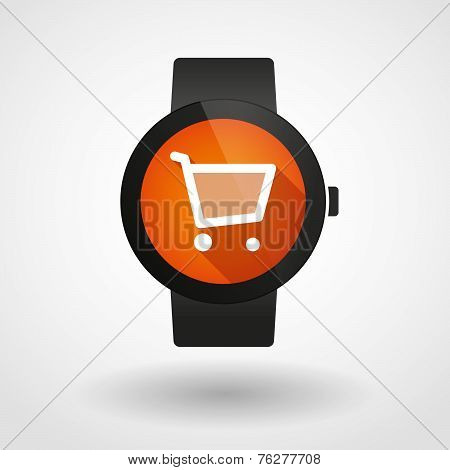 Smart Watch Icon With A