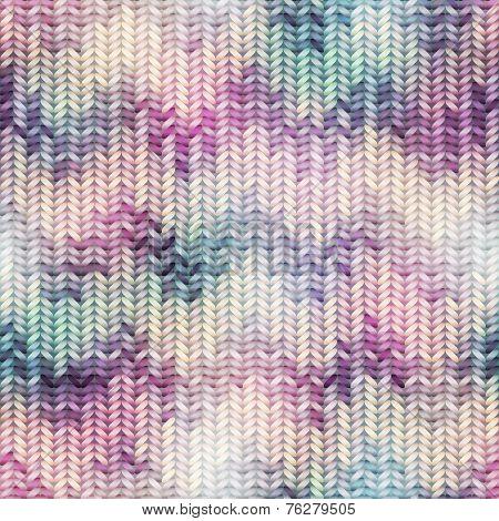 Imitation Sweater knit Melange effect