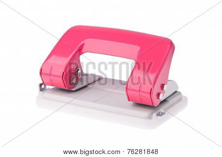 Office Paper Hole Puncher On Background
