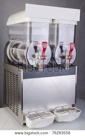 Juice Dispenser On White Background