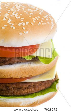 Closeup Burger