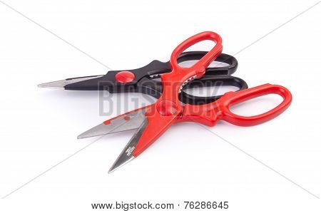 Two Kitchen Scissors