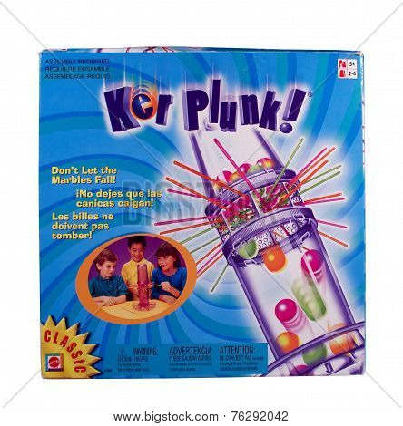 Kerplunk Game Box