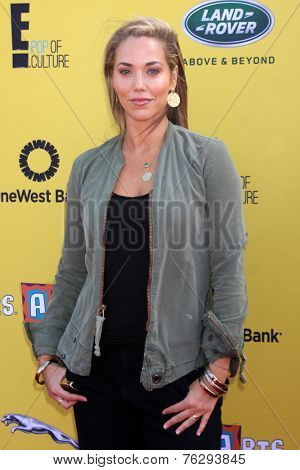 LOS ANGELES - NOV 16:  Elizabeth Berkley at the PS Arts Express Yourself Benefit at the Barker Hanger on November 16, 2014 in Santa Monica, CA