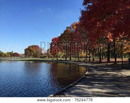 Romantic Fall Scenery