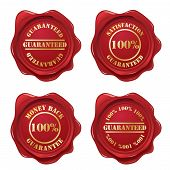 Guarantee wax seal collection