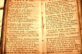 pic of 1700s  - 1700s parchment bible leaves - JPG