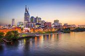 picture of broadway  - Nashville - JPG