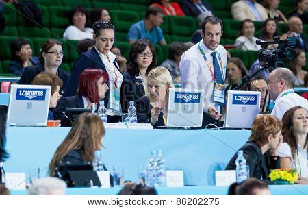 Rhythmic Gymnastics Judges Team