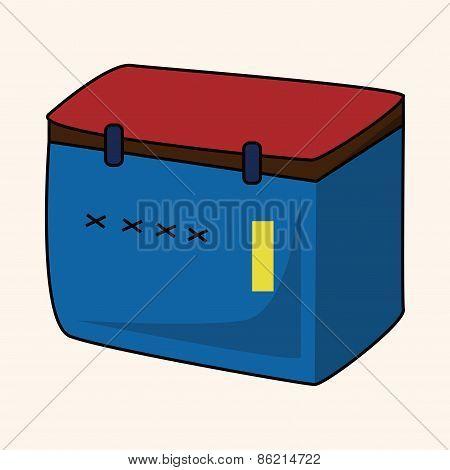 Fishing Box Theme Elements