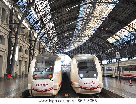 Renfe Trains, Spain