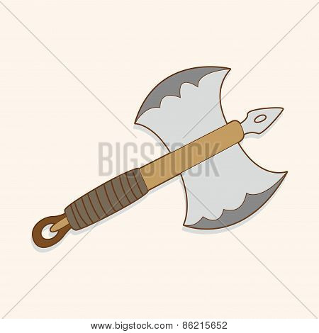 Weapon Axe Theme Elements