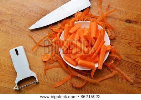 Freshly Carrots