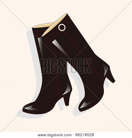 Shoes Boot Style Theme Elements