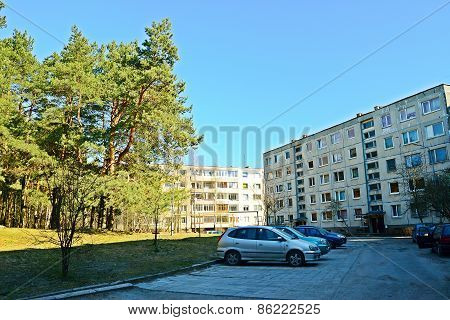 New Houses In Vilnius City Justiniskes District