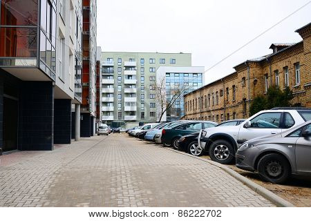 Vilnius City Houses In Zirmunai District Nord City
