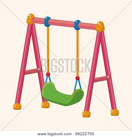 Playground Swing Theme Elements