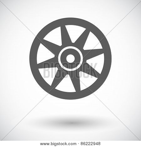Icon Car drive.